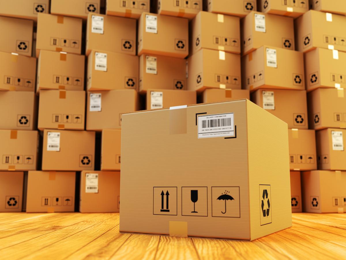 cardboard box for shipping